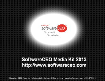 Download our Media Kit - SoftwareCEO