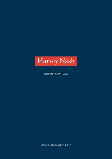 INTERIM REPORT 2001 HARVEY NASH GROUP PLC