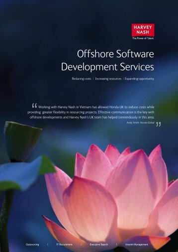 Download Offshore Sofware Services Overview - Harvey Nash