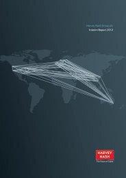 Harvey Nash Group plc Interim Report 2012