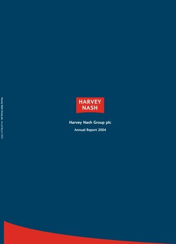 Annual Report & Accounts 2004 - Harvey Nash