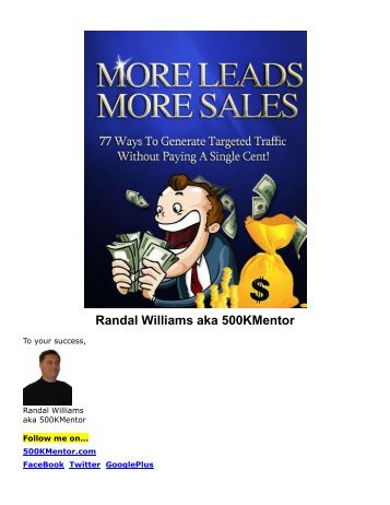 More Leads. More Sales - Viral PDF Generator