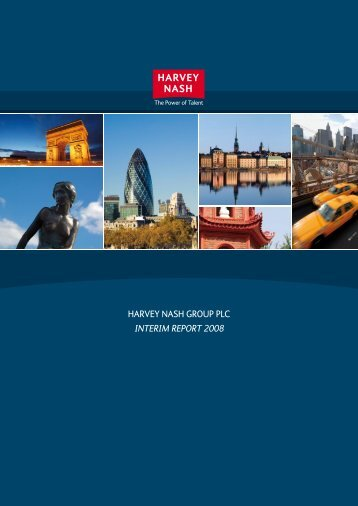 HARVEY NASH GROUP PLC INTERIM REPORT 2008