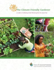 The Climate-Friendly Gardener - Union of Concerned Scientists