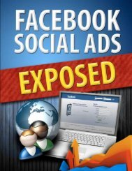Facebook Social Ads Exposed 1 - Viral PDF Generator