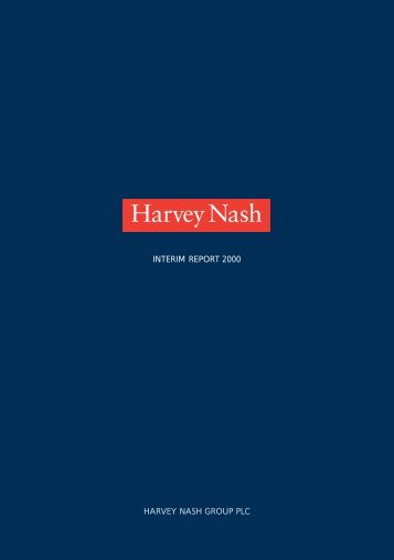 Interim Report 2000 - Harvey Nash