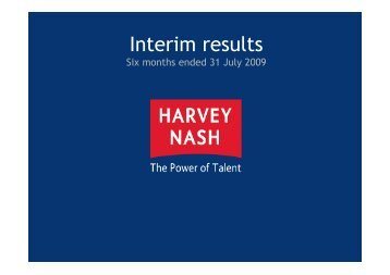 2009 - Harvey Nash