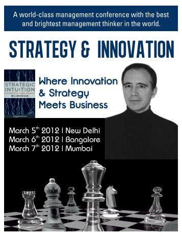 Where Innovation & Strategy Meets Business - Knowledge Capital ...