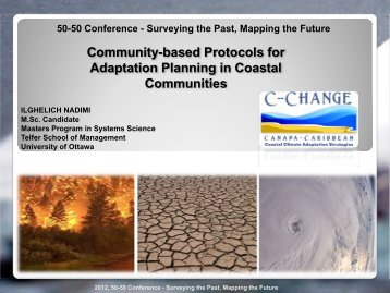 Community-based Protocols for Adaptation Planning in ... - C-Change