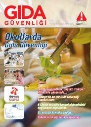 2008/4.Sayı : Okullarda Gıda Güvenliği