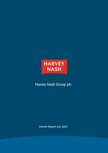 Interim Report 2003 - Harvey Nash