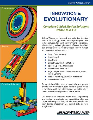 EVOLUTIONARY - Bishop-Wisecarver Corp.