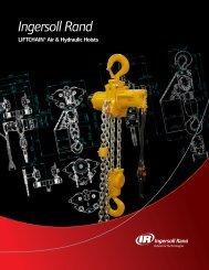 Lift Chain Series Hoists - 1.5 - 100 Tons - Rowe Sales & Service Inc.