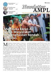 Newsletter AMPL | Mei 2012