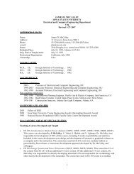 1 JAMES D. MCCALLEY IOWA STATE UNIVERSITY Electrical and ...