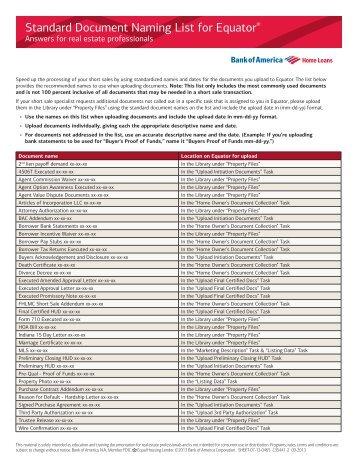 bank of america hafa short sale package pdf