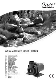Aquamax Dry 6000 - 16000 - Oase