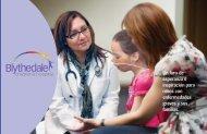 folleto para las familias de los paciente - Blythedale Children's ...