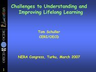 Challenges to Understanding and Improving Lifelong Learning