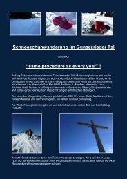 Schneeschuhwanderung im Gunzesrieder Tal - Alpinschule OASE ...