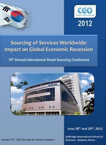Presentación de PowerPoint - Center for Global Outsourcings
