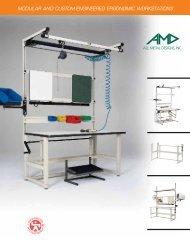 modular and custom-engineered ergonomic workstations
