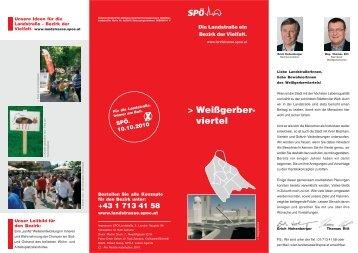 Weißgerber- viertel - SPÖ Landstrasse
