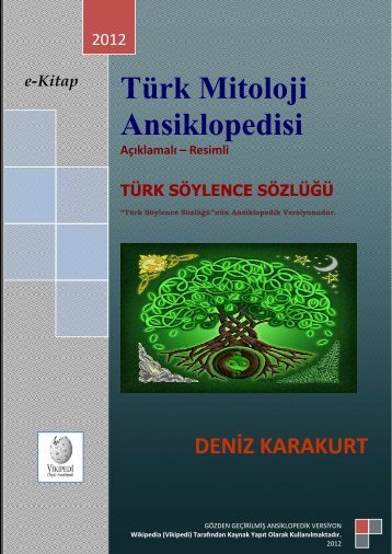 TURK MITOLOJI ANSIKLOPEDISI