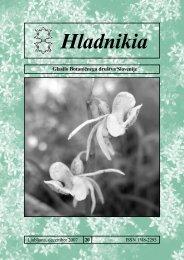 PDF formatu - Botanično društvo Slovenije