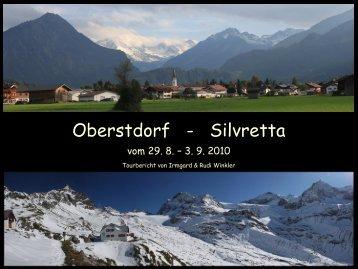 Von Oberstdorf in die Silvretta - Alpinschule  OASE-Alpin