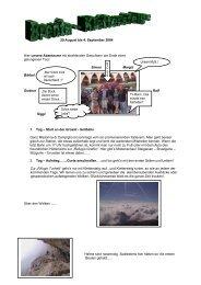 Klettersteige Dolomiten/Brenta (29. August - 04. September 2004