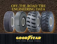 OFF-THE-ROAD TIRE ENGINEERING DATA - Goodyear Off-The ...