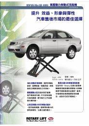 提升效益、形象與彈性汽車售後市場的最佳選擇