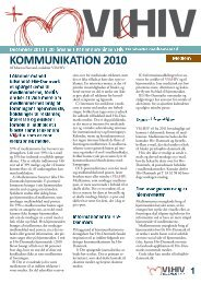 VI&HIV December 2010 - Hiv-Danmark