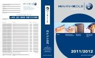 HAHN+KOLB-Toolcatalogue 2011/12 – Cover ... - EN / Hahn+Kolb
