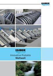 waste water - huber se