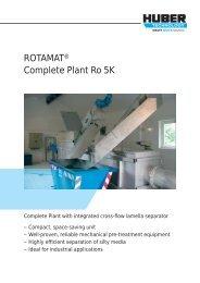 ROTAMAT® Complete Plant Ro 5K - huber se