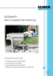 ROTAMAT ® Mini Complete Plant MiniCop - brochure US version