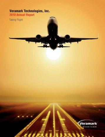 Veramark 2010 Annual Report