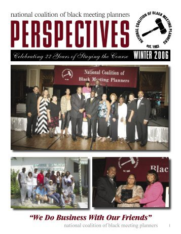 Perspective 2006 - National Coalition of Black Meeting Planners