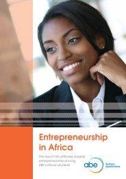 Entrepreneurship in Africa Report - Association of Business Executives