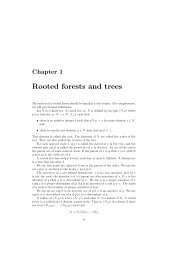 Rooted forests and trees - Optimization Algorithms for Planar Graphs