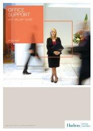 Office Support Salary Survey 2012 - Scotland - Hudson