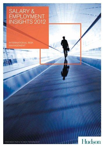 International Risk Management Salary & Employment ... - Hudson