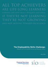 The Employability Skills Challenge - Hudson