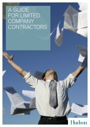 A Guide for Limited Company Contractors - Hudson