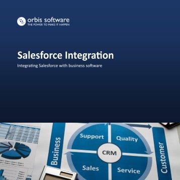 Salesforce Integration - Orbis Software Ltd