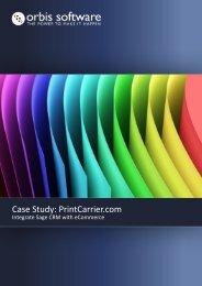 Case Study: PrintCarrier.com - Orbis Software Ltd