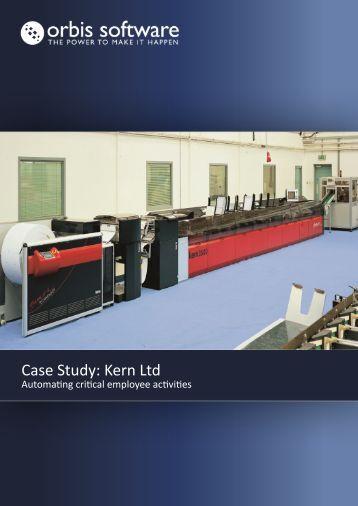 Case Study: Kern Ltd - Orbis Software Ltd