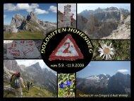 San Martino di Castrozza St. Ulrich - Alpinschule OASE-Alpin